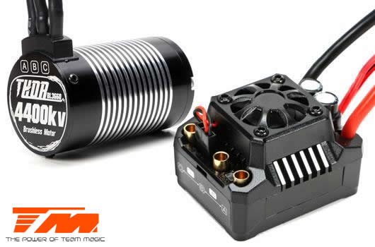 Team Magic - 191016 - Brushless Combo - THOR MAX 10 ESC & THOR 3660 Motor - For TM E5 HX