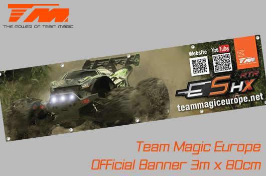 Team Magic - TM-B-7 - Banner - Team Magic - E5 HX - 300 x 80cm