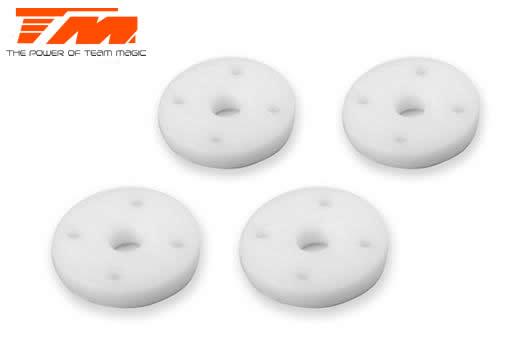 Team Magic - TM507620 - Replacement Part - E4RS4 - Big Bore Teflon Shock Piston - 4x 1.2mm (4 pcs)