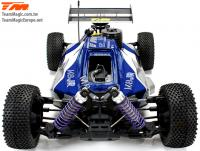 Car - 1/8 Nitro - 4WD Buggy - RTR - Pull Start - Team Magic M8JR