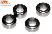 Ball Bearings - metric -  5x10x4mm (4 pcs)