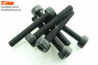 Screws - Cap Head - Hex (Allen) - M3 x 20mm (6 pcs)