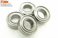 Ball Bearings - metric -  6x12x4mm (4 pcs)