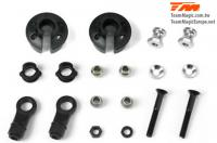 Replacement Part - B8RS - Shock Ball End, Spring Cap and Hardware Set (2 pcs)
