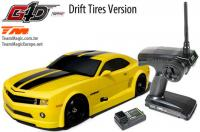 Auto - 1/10 Nitro - 4WD Drift - RTR - Seilzugstarter - Team Magic G4D CMR