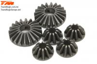 Replacement Part - E6 Trooper / Trooper II / E6 III - Differential Bevel Gear Set (for 1 differential)
