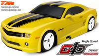 Car - 1/10 Nitro - 4WD Touring - RTR - Pull Start - 1-Speed - Team Magic G4D TC CMR
