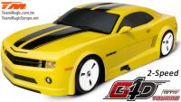 Auto - 1/10 Nitro - 4WD Touring - RTR - Seilzugstarter - 2-Speed - Team Magic G4D TC CMR