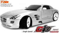 Car - 1/10 Nitro - 4WD Touring - RTR - Pull Start - 1-Speed - Team Magic G4D TC SLS