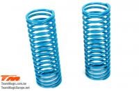 Replacement Part - E6 Trooper / Trooper II / E6 III - Shock Spring - K1.2 (soft) - Blue (2 pcs)