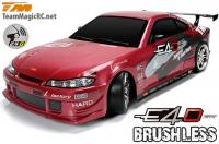 Car - 1/10 Electric - 4WD Drift - RTR - 2.4gHz - Brushless - Team Magic E4D - S15