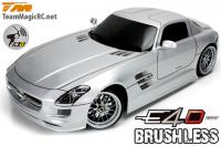 Car - 1/10 Electric - 4WD Drift - RTR - 2.4gHz - Brushless - Team Magic E4D - SLS