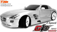 Auto - 1/10 Nitro - 4WD Touring - RTR - Seilzugstarter - 2-Speed - Team Magic G4D TC SLS