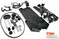Car Conversion Kit - E4D-MF - Middle Front motor position conversion set for E4D