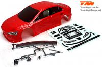 Body - 1/10 Touring / Drift - 190mm - Painted - no holes - EVX Red