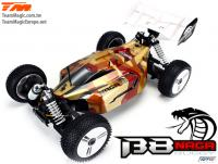 Car - 1/8 Electric - 4WD Buggy - RTR - 2650kv Brushless Motor - 4S - Team Magic B8 NAGA