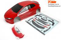 Body - 1/10 Touring / Drift - 190mm - Painted - no holes - TPR Red