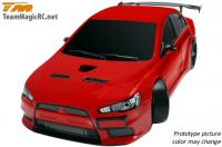 Car - 1/10 Electric - 4WD Drift - RTR - 2.4gHz - Brushless - Team Magic E4D - EVX - 2012 Specs