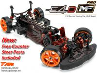 Auto - 1/10 Electrique - 4WD Drift - ARR - Compétition - Team Magic E4D-MF Pro avec Counter Steer