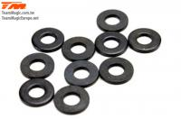 Washers -  3.6 x 8 x 1mm (10 pcs)