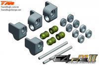 Option Part - E4RS II / EVO / JS II / JR II - Aluminum 7075 - Front Arm Holder