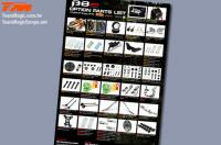 Poster - Team Magic B8ER Option Parts