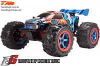 Car - Monster Truck Electric - 4WD - RTR - Brushless - Waterproof - Team Magic E6 Trooper II