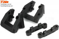 Replacement Part - E6 Trooper II / E6 III - Front/Rear Upper Arm Hinge Pin Mount (4 pcs)