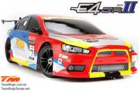 Auto - 1/10 Electrique - 4WD Touring - RTR - Etanche - Team Magic E4JR II - EVX