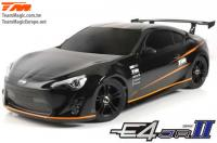 Auto - 1/10 Electrique - 4WD Touring - RTR - Etanche - Team Magic E4JR II - T86