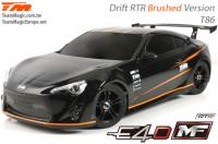 Auto - 1/10 Elektrisch - 4WD Drift - RTR - Team Magic E4D-MF - T86