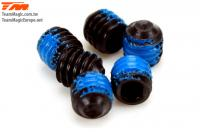 Grub Screws - M4 x  4mm with Thread Lock (6 pcs)