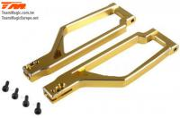 Option Part - E6 Trooper / Trooper II / E6 III - Aluminum Gold anodized - Upper Arm (2 pcs)
