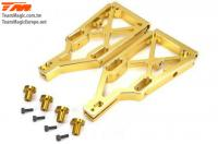 Option Part - E6 Trooper / Trooper II / E6 III - Aluminum Gold anodized - Lower Arm (2 pcs)