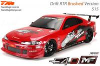 Auto - 1/10 Electrique - 4WD Drift - RTR - Team Magic E4D-MF - S15