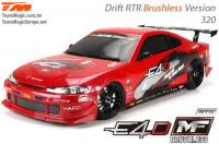 Auto - 1/10 Electrique - 4WD Drift - RTR - Brushless - Team Magic E4D-MF - S15
