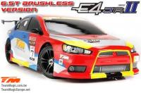 Auto - 1/10 Elektrisch - 4WD Touring - RTR - Wasserdicht - Brushless - Team Magic E4JR II - EVX