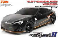 Auto - 1/10 Electrique - 4WD Touring - RTR - Etanche - Brushless - Team Magic E4JR II - T86