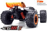 Car - Monster Truck Electric - 4WD - RTR - Brushless 2500KV - 4S - Waterproof - Team Magic E6 III HX