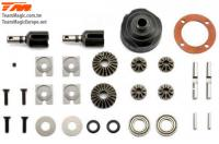 Replacement Part - E6 III - Differential Kit (F/R)