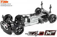 Car - 1/10 Electric - 4WD Drift - ARR - Team Magic E4D-MF - S15 without Electronics