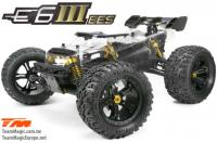 Car - Monster Truck Electric - 4WD - ARR (no electronics) - Team Magic E6 III BES