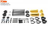 Replacement Part - E6 III - Aluminum Gold anodized - Shock Absorber Set (2 pcs)