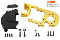 Replacement Part - E6 III - Aluminum Gold anodized - Adjustable Motor Mount /W Cover