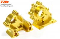 Replacement Part - E6 III - Aluminum Gold anodized - CNC Machined Central Gear Box
