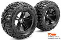 Reifen - Monster Truck - montiert - Splinned Radmitnehmer - E6 III BES (2 Stk.)