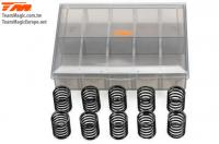 Shock Springs - 1/10 Touring - PRO Progressive Set - 14x22.5x1.4mm (5 pairs)