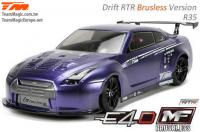 Auto - 1/10 Electrique - 4WD Drift - RTR - Brushless - Team Magic E4D-MF - R35