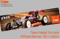 Banner - Team Magic - B8ER - 300 x 80cm