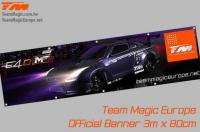 Banner - Team Magic - E4D-MF R35 - 300 x 80cm